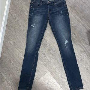 Express jeans 4 long
